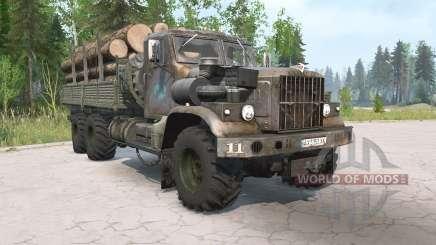 KrAZ-255B de edad para MudRunner