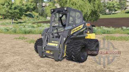 New Holland L218 double wheels para Farming Simulator 2017