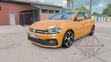 Volkswagen Polo R-Line (Typ AW) 2017 para American Truck Simulator