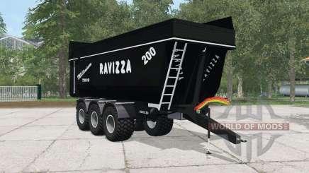 Ravizza Millenium 7200 SI black para Farming Simulator 2015