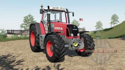 Fendt 800 Vario TMS added FL mounting frame para Farming Simulator 2017