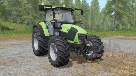 Deutz-Fahr 5110 TTV the choice of wheels para Farming Simulator 2017