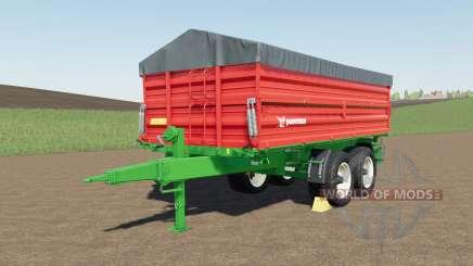 Farmtech TDƘ 1600 para Farming Simulator 2017