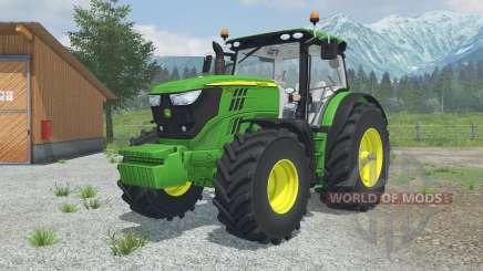 John Deere 6170R&6210R MoreRealistic para Farming Simulator 2013