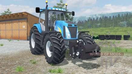 Nueva Hollanᵭ T8020 para Farming Simulator 2013