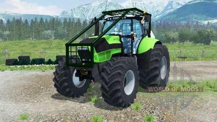 Deutz-Fahr Agrotron TTV 630 Forest Edition para Farming Simulator 2013