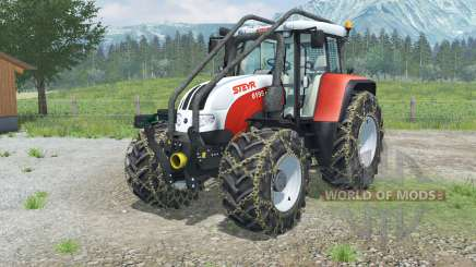 Steyr 6195 CVT Forest Edition para Farming Simulator 2013