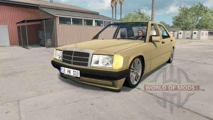 Mercedes-Benᵶ 190 E (W201) para American Truck Simulator