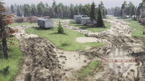 Los islotes de carga para Spin Tires