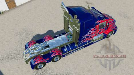 Western Star 5700 Sleeper Cab Optimus Prime para Farming Simulator 2017