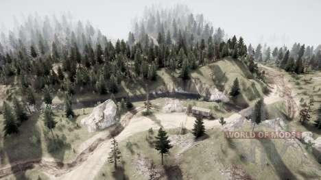 La tierra de los libres v1.1 para Spintires MudRunner