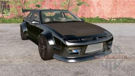 Ibishu 200BX Black on Black v3.0 para BeamNG Drive
