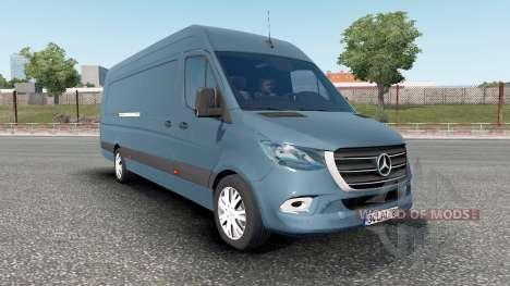 Mercedes-Benz Sprinter VS30 Van 316 CDI 2019 para Euro Truck Simulator 2