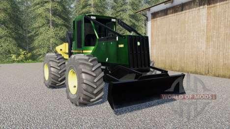 Juan Deeɾe 548H para Farming Simulator 2017