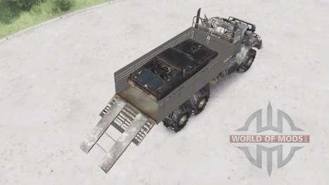 KrAZ-255B de Mad Max para Spin Tires