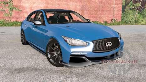 Infiniti Q50 Eau Rouge (V37) 2014 para BeamNG Drive