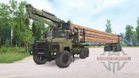 KrAZ-260 para Spintires MudRunner
