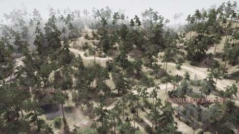 Pine Ridge Run para Spintires MudRunner