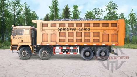 Shacman F3000 four-axle para Spintires MudRunner