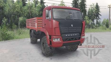 KamAZ-4350 para Spin Tires