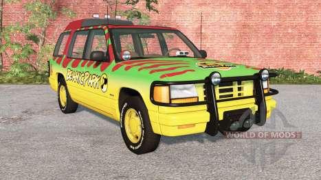 Gavril Roamer Tour Car Beamic Park v3.1 para BeamNG Drive