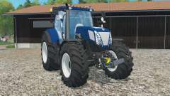 New Holland T7.270 Azul Poweᶉ para Farming Simulator 2015