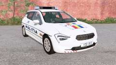 Cherrier FCV Romanian Police para BeamNG Drive