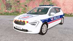 Cherrier FCV National Police v0.2 para BeamNG Drive