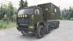 KamAZ-6560 v1.1 para Spin Tires