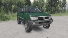 Toyota Land Cruiser 100 VX 2005 v1.2 para Spin Tires