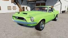 Shelby ԌT500 1968 para Farming Simulator 2017