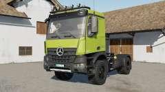 Mercedes-Benz Arocs COMO 4xꝜ para Farming Simulator 2017