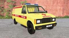 Gavril de la Serie H de la Ambulancia v1.2 para BeamNG Drive