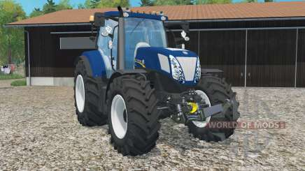New Holland T7.270 Azul Poweᶉ para Farming Simulator 2015