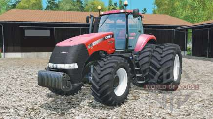 Case IH Magnum 380 CVT rear twin wheels para Farming Simulator 2015
