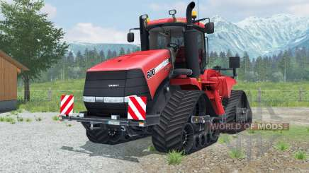Case IH Steiger 600 Quadtrac round lighting para Farming Simulator 2013