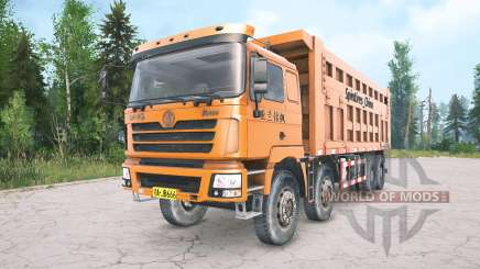 Shacman F3000 four-axle para MudRunner