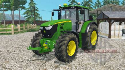 John Deere 6170Ꙧ para Farming Simulator 2015