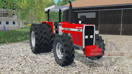 Massey Ferguson 2680 Sincro Turbꝍ para Farming Simulator 2015