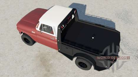 Chevrolet K10 Flatbed para Farming Simulator 2017