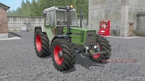 Fendt Favorit 600 LSA Turbomatik E para Farming Simulator 2017