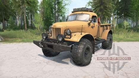 ZIL-157 Leñador para Spintires MudRunner