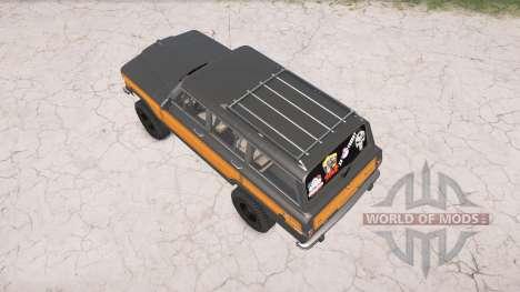 Jeep Grand Wagoneer 1991 para Spintires MudRunner