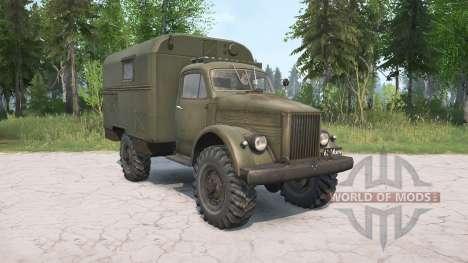 El GAZ-63 para Spintires MudRunner