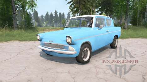 Ford Anglia Deluxe (105E) 1959 para Spintires MudRunner
