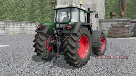 Fendt Favorit 800 Turboshift para Farming Simulator 2017