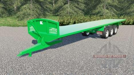 Larrington 42ft Flat Deck para Farming Simulator 2017