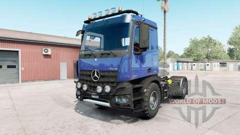 Mercedes-Benz Arocs AS 2013 para American Truck Simulator