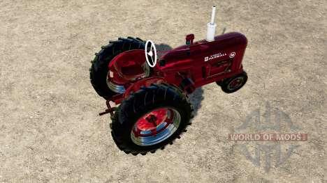 McCormick-Farmall Super M para Farming Simulator 2017