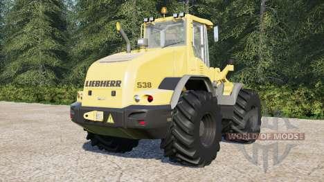 Liebherr L538 para Farming Simulator 2017